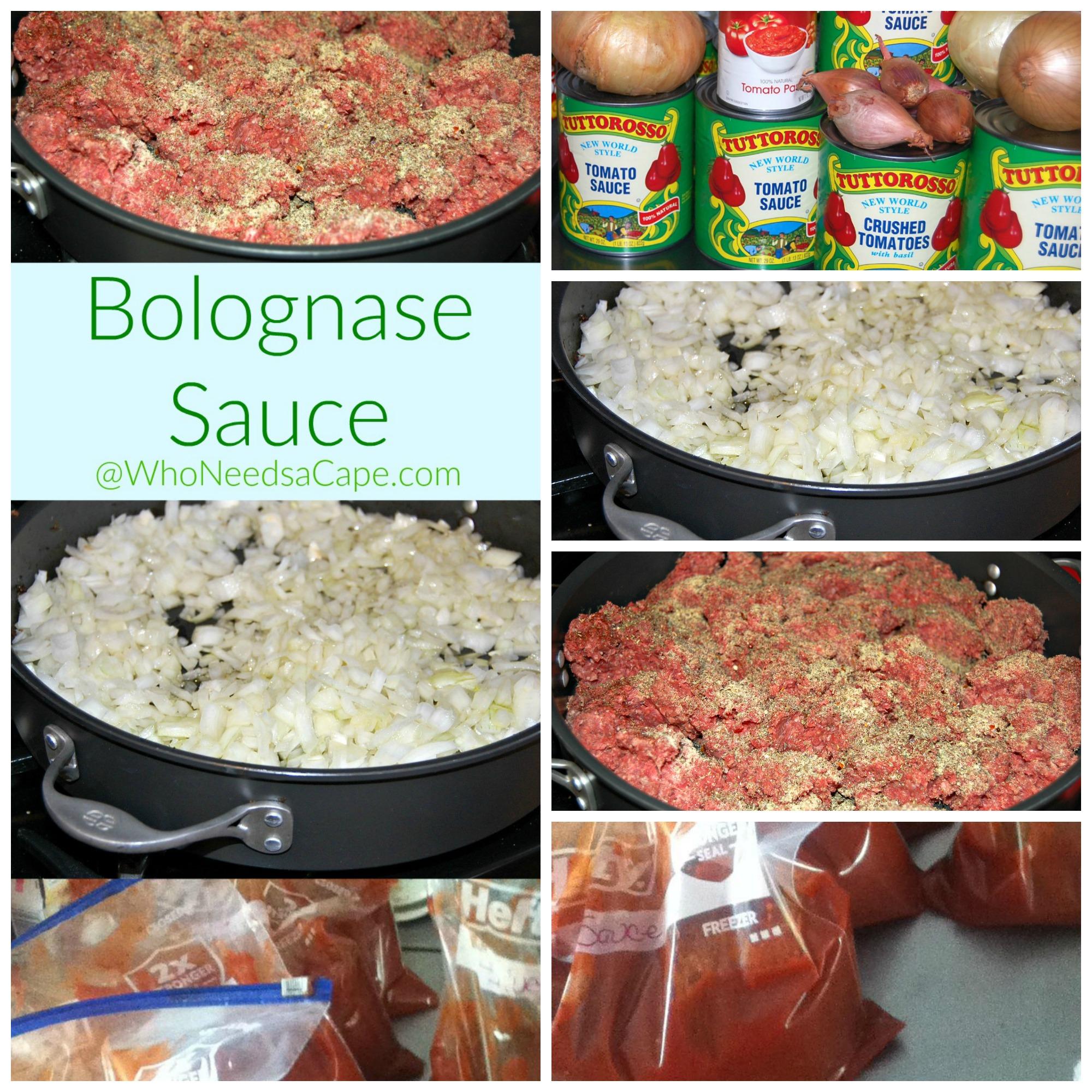 Bolognase Sauce Square