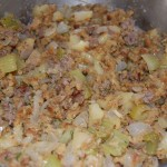 Semi-Homemade Apple Sausage Stuffing