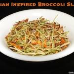 Asian Inspired Broccoli Slaw