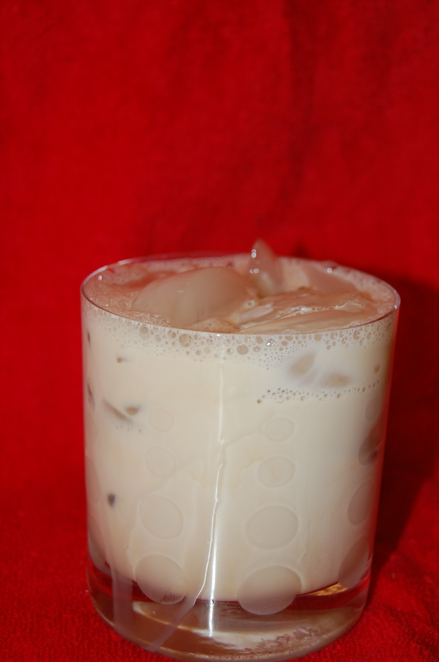 Vanilla (White) Russian Cocktail or Martini