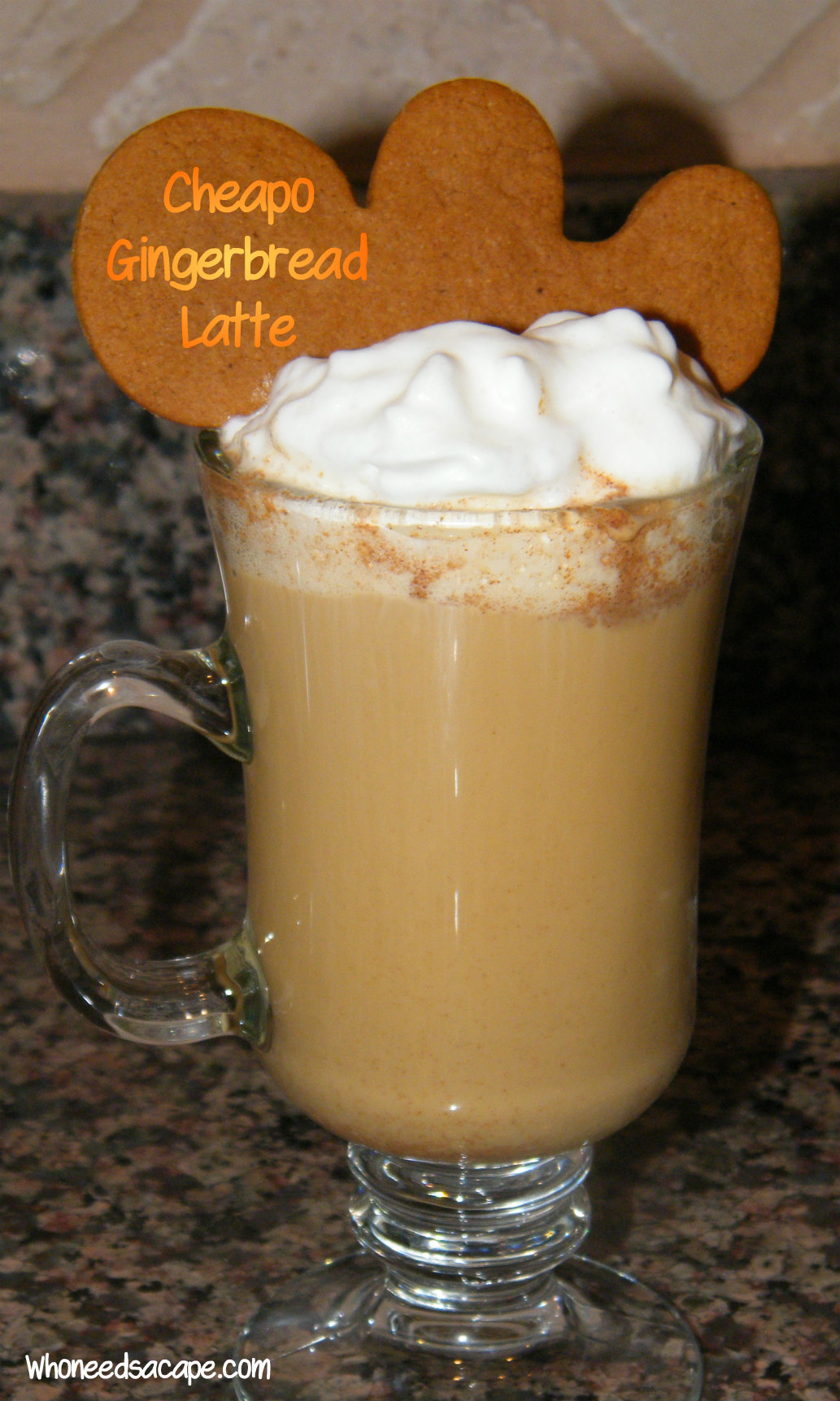 {copycat} Gingerbread Latte | Who Needs A Cape?