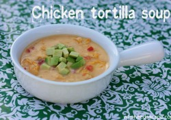 {copycat} Max & Erma's Chicken Tortilla Soup