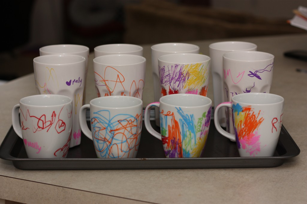 Ceramic Mug Craft Ideas