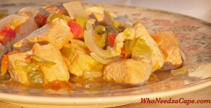 Crockpot Green Chile Pork Stew