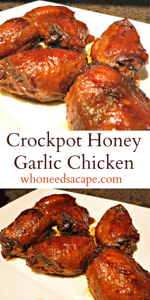 exp pin crockpot honey garlic chicken