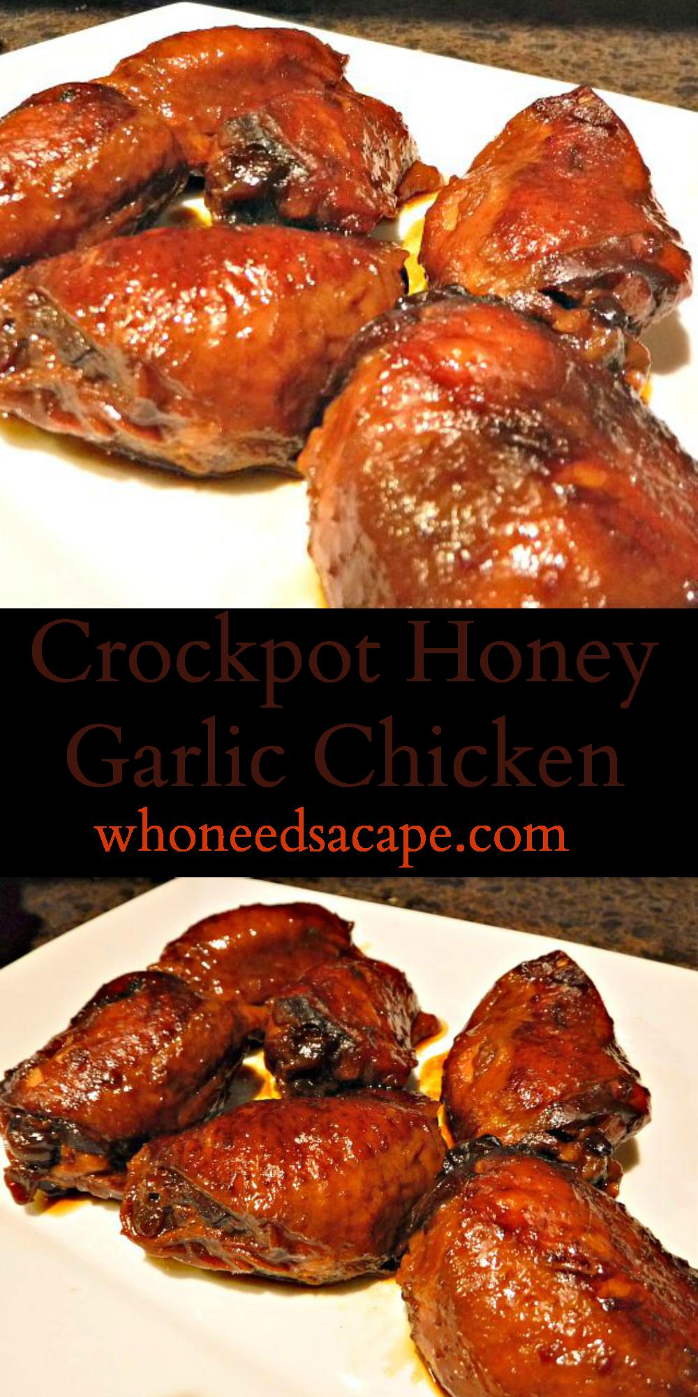 Crockpot Honey Garlic Chicken Who Needs A Cape