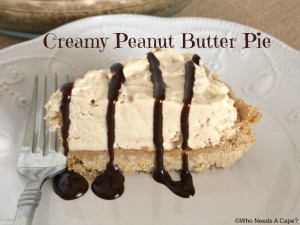 This almost no-bake pie is easy to prepare and oh so yummy!