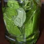 Basil Pepper Infused Vodka