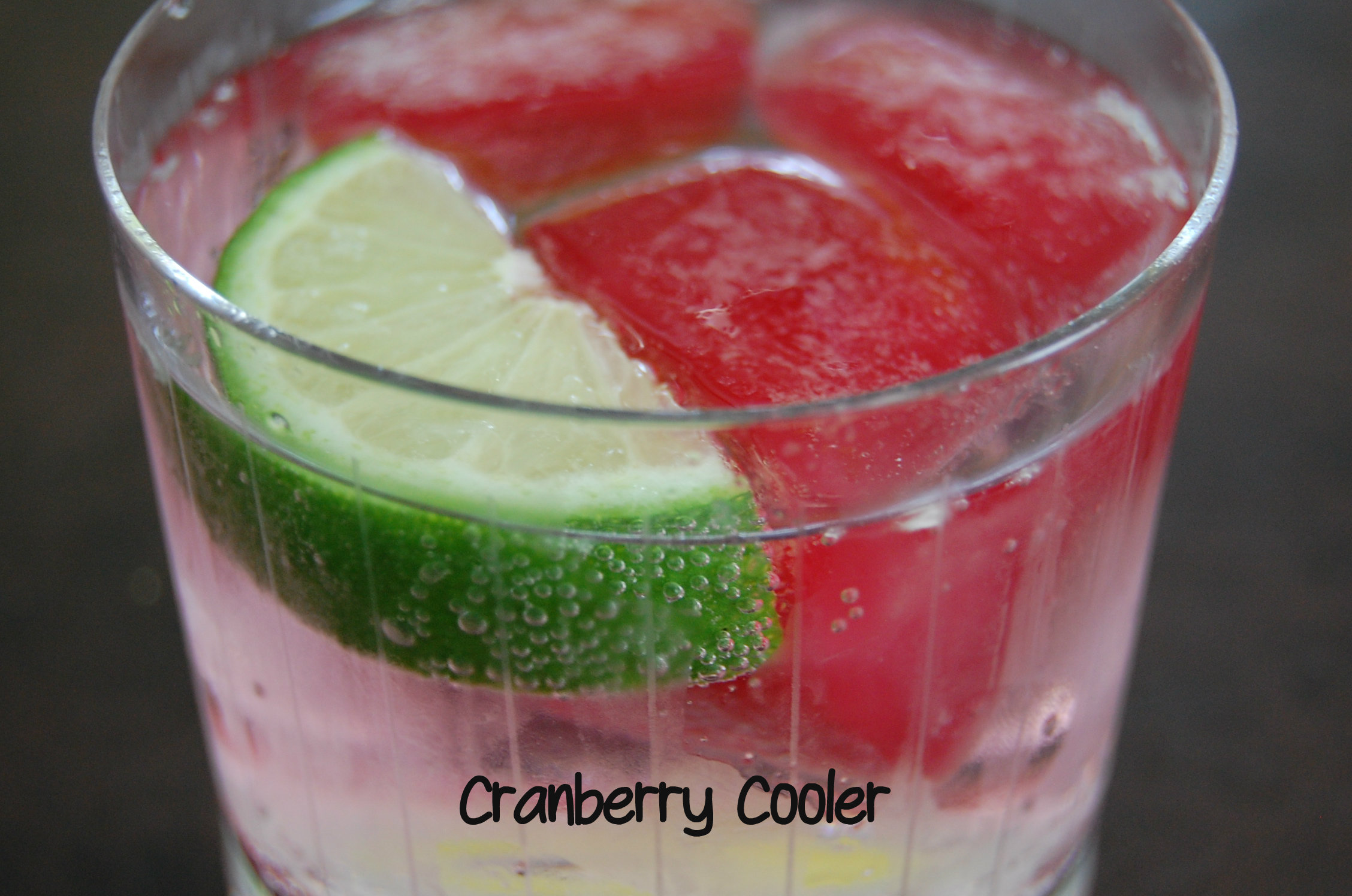 Cranberry Cooler is a refreshing non-alcoholic sipper perfect for hot summer days. Loaded with cranberry flavor you'll love this beverage!