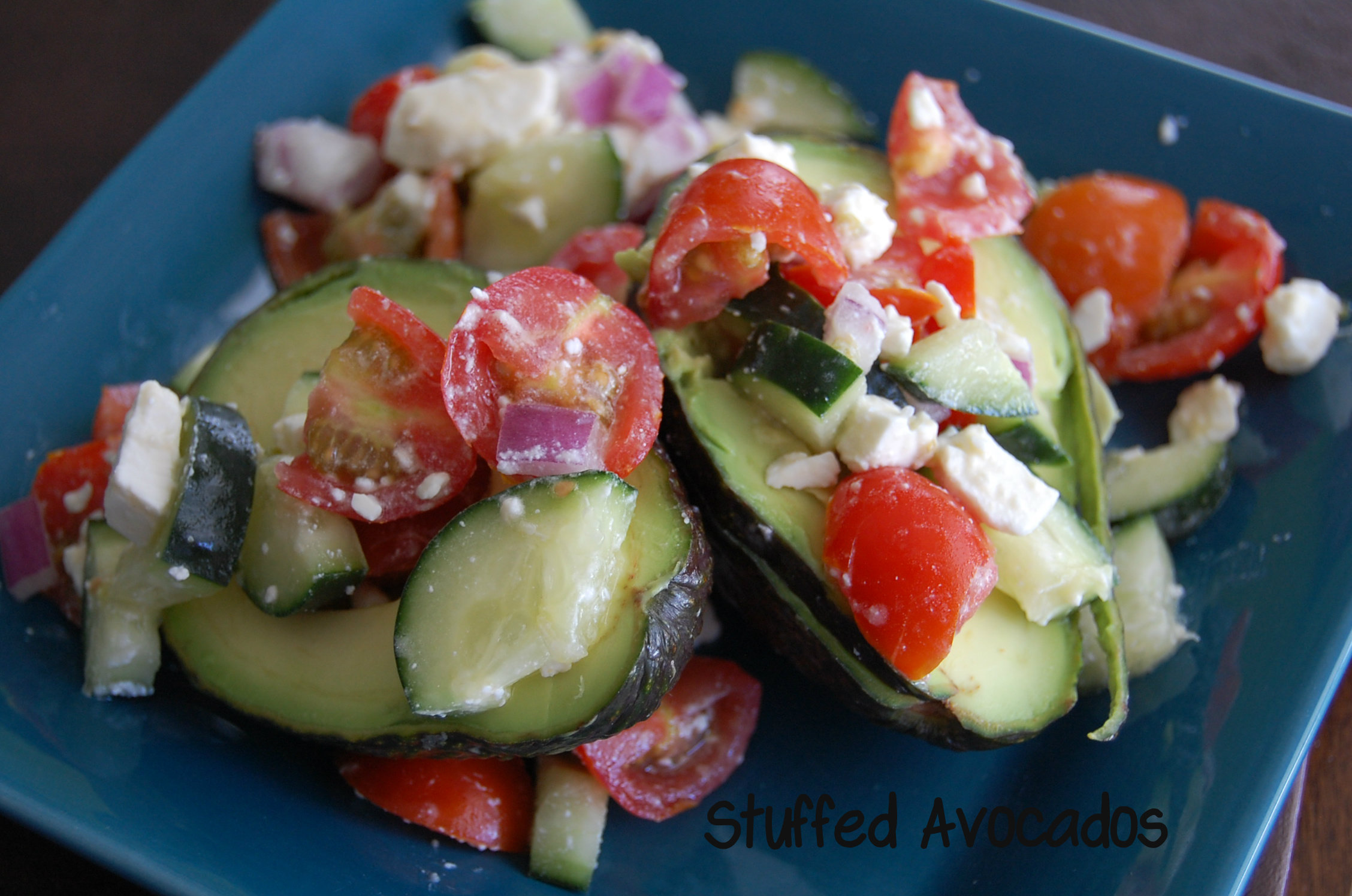 Stuffed Avocados | Who Needs A Cape?