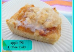 If you love apple pie and love cake then you must try Apple Pie Coffee Cake. Great with some vanilla ice cream, you'll love this dessert.