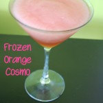 Frozen Orange Cosmo