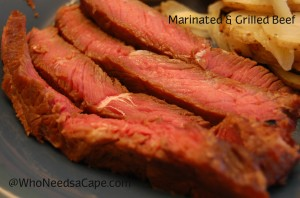 Marinated & Grilled Beef