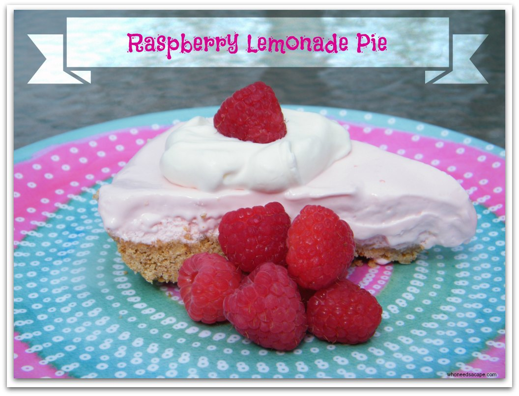 Raspberry Lemonade Pie Who Needs A Cape