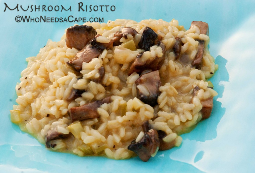 Need an elegant dish that will impress? Mushroom Risotto is just that dish, comforting yet packed full of special flavors.