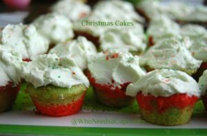Christmas Cakes | Who Needs A Cape?
