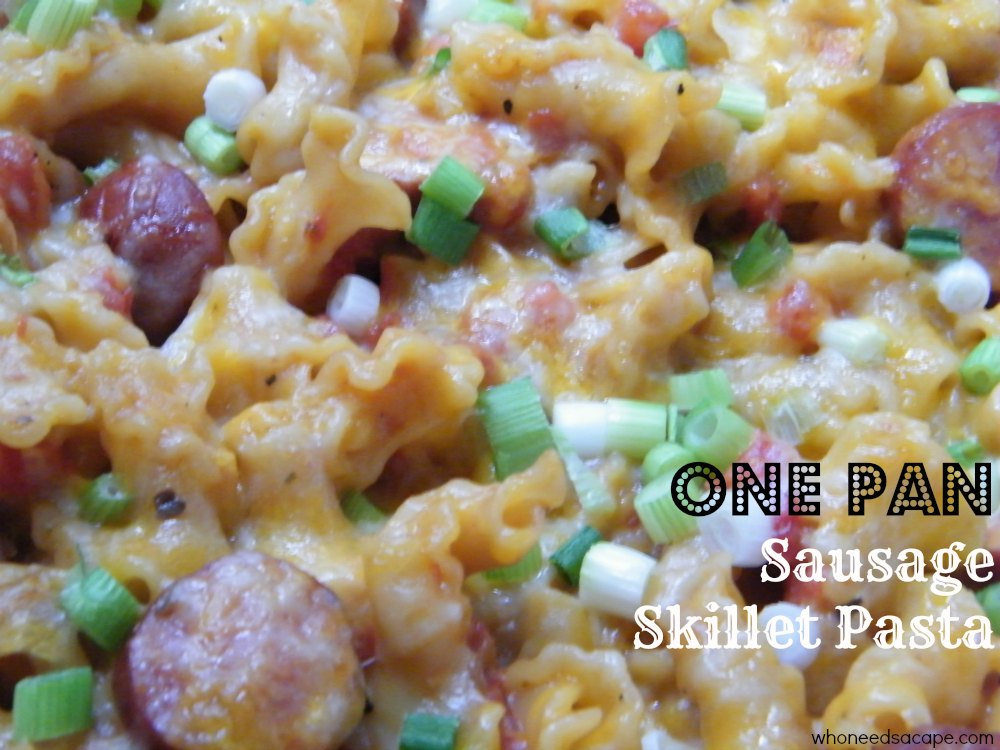 Eckrich sausage recipes with pasta