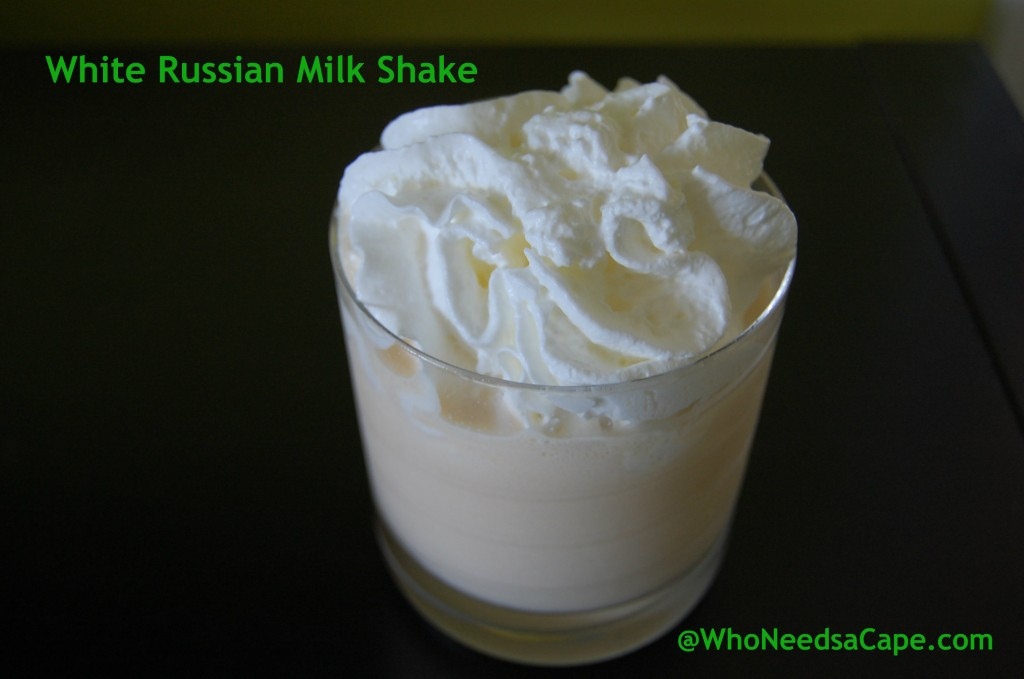 Part dessert and part cocktail, totally delicious! White Russian Milkshake is simply a decadent treat. Thick, creamy & oh so good!