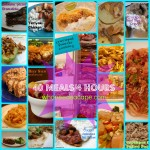 40 Meals in 4 Hours Recipe Collection
