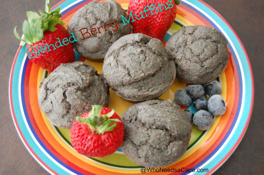 Blended Berry Muffins