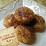 Cinnamon Sugar Greek Yogurt Muffins