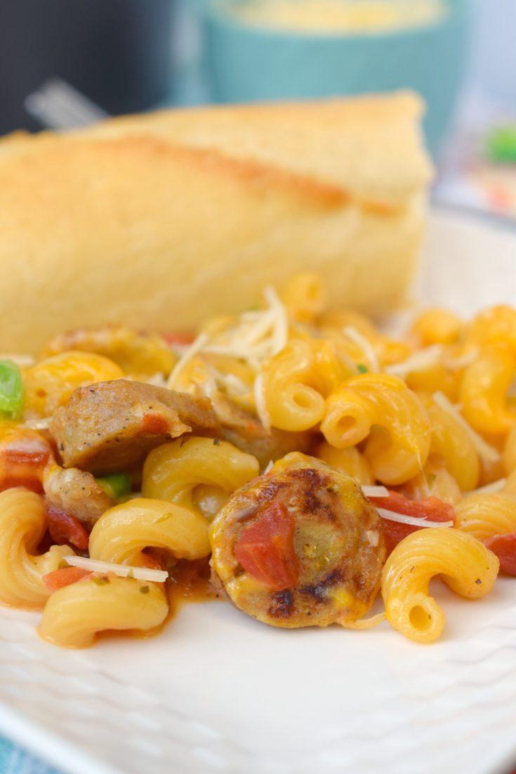 One Pan Sausage Skillet Pasta