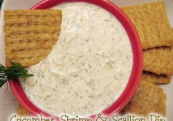 Cucumber, Shrimp & Scallion Dip