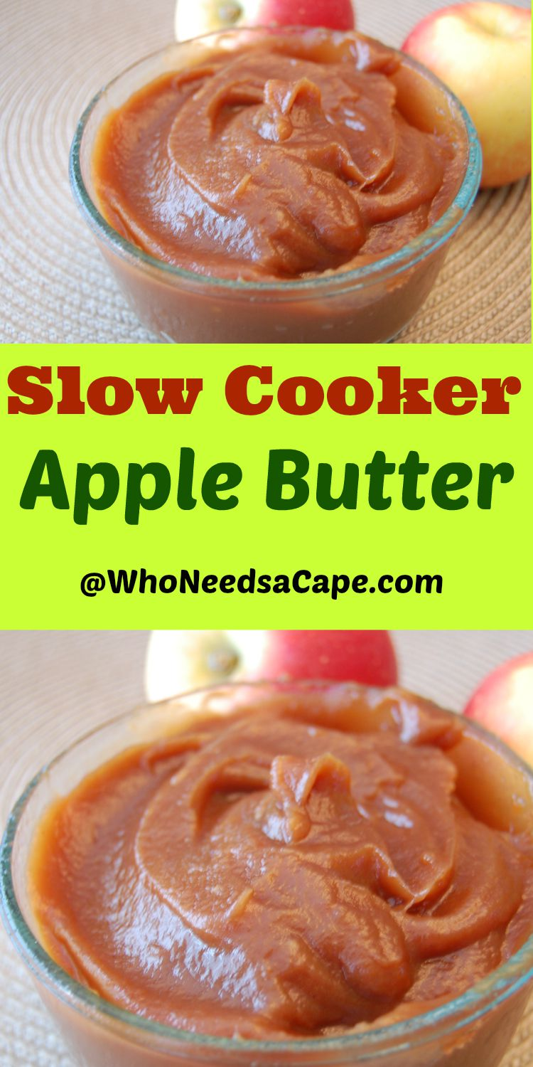 Crock Pot Apple Butter is the perfect recipe for harvest fresh apples. Use in a variety of recipes or on muffins or biscuits!