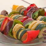Throw Back Thursday ~ Grilled Vegetable Skewers