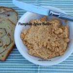 Pumpkin Spiced Butter Spread