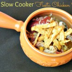 Slow Cooker Fiesta Chicken Soup