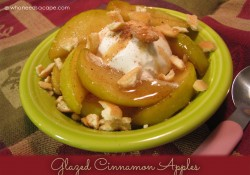 Slow Cooker Glazed Cinnamon Apples