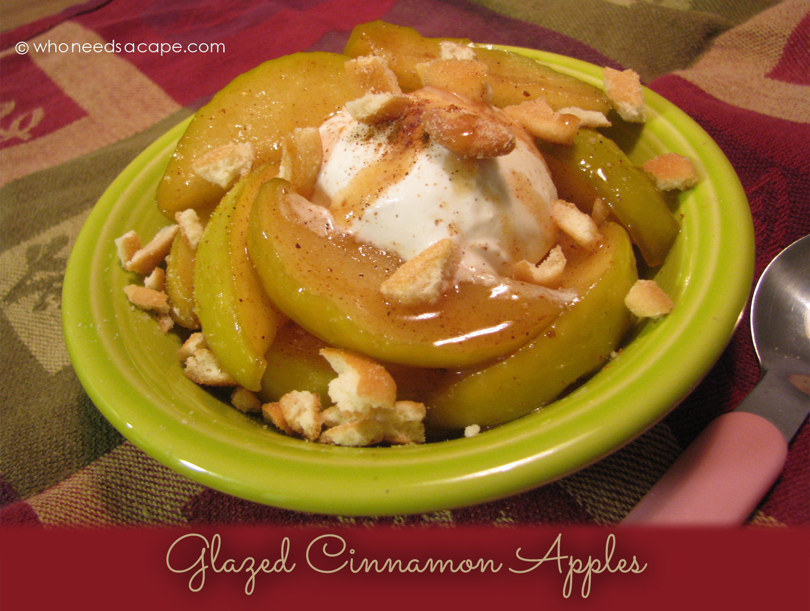 Slow Cooker Glazed Cinnamon Apples will be your new favorite dessert! Using your crockpot you'll have a fruity family favorite that everyone will love.