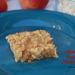 Apple Pie Oatmeal Protein Bars | Who Needs A Cape?