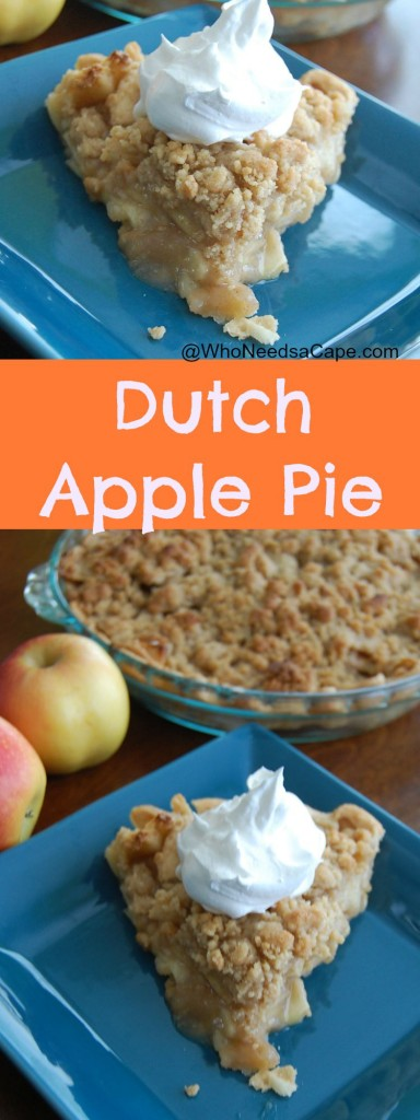 Dutch Apple Pie is the perfect fall dessert. Impress anyone you serve it to with it's amazing taste, be prepared they'll be asking for the recipe!