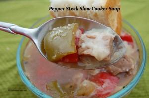 Pepper Steak Slow Cooker Soup