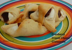 Cranberry Cream Cheese Crescents