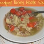 Crockpot Turkey Noodle Soup