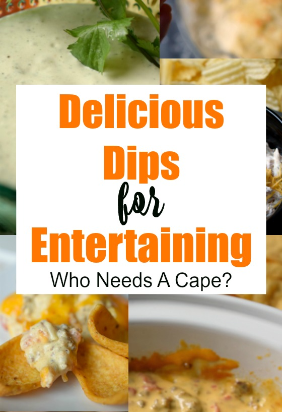 Fabulous collection of Delicious Dips for Entertaining, from sweet to savory to everything in between! You'll find a new favorite or two.