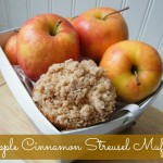 Apple Cinnamon Streusel Muffins | Who Needs A Cape?