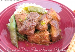 General Tso's Slow Cooker Chicken | Who Needs A Cape?