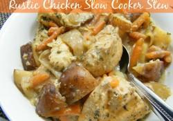 Rustic Chicken Slow Cooker Stew