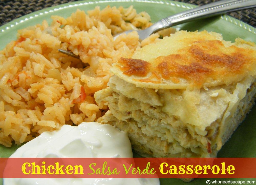 recipe: salsa verde chicken casserole [27]