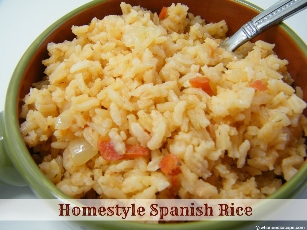 how to cook rice spanish style
