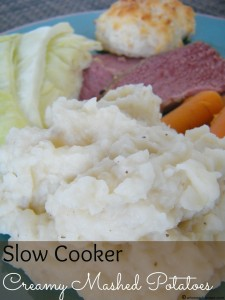 Slow Cooker Creamy Mashed Potatoes | Who Needs A Cape?