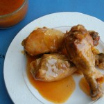 Sweet and Spicy Slow Cooker Drumsticks
