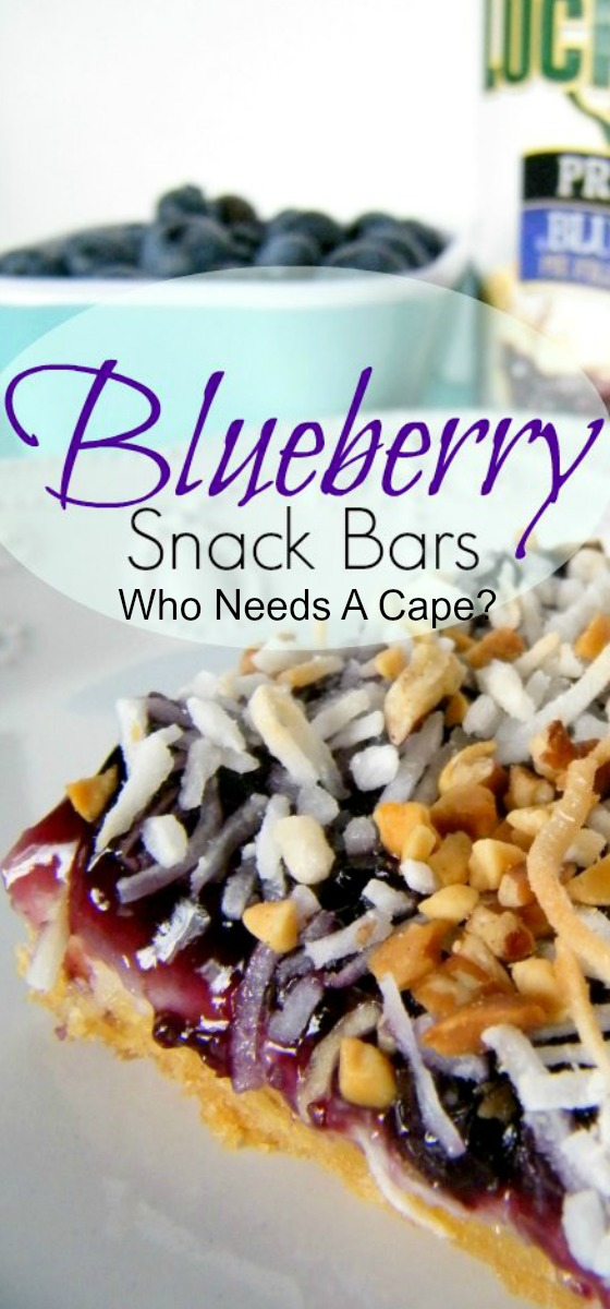 Blueberry Snack Bars Who Needs A Cape