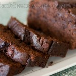 Sour Cream Chocolate Chocolate Chip Banana Bread