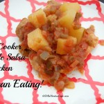 Slow Cooker Clean Eating Pineapple Salsa Chicken