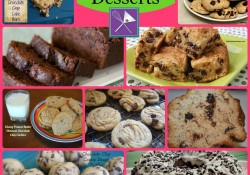 Chocolate Chip Desserts Collection | Who Needs A Cape?